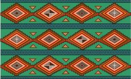Abstraktes von Hand gezeichnetes ethno Muster, Stammes- Hintergrund. Muster Lizenzfreie Stockfotografie