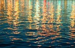 Abstraktes Wasser stockfoto