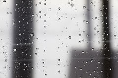 Abstraktes Wasser lässt Hintergrund fallen Lizenzfreies Stockbild