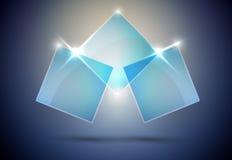 Abstraktes Web-Element   Lizenzfreies Stockfoto
