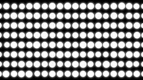 abstraktes Weiß kreist Hintergrund ein weiße Elemente stock footage