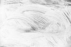 Abstraktes weißes Farbenmuster über grauer Wand lizenzfreie stockbilder