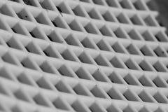 Abstraktes weißes Gitter lizenzfreie stockfotos