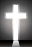 Abstraktes weißes Kreuz Lizenzfreies Stockfoto