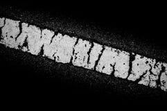 Abstraktes Weiß gemasert auf schwarzem Hintergrund Stockfotografie
