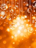 Abstraktes Weihnachten mit Schneeflocke. ENV 10 Lizenzfreie Stockfotografie