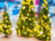 Abstraktes Weihnachten unscharfer Hintergrund Stockbilder