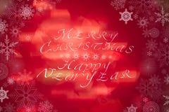 Abstraktes Weihnachten unscharfer Hintergrund Lizenzfreies Stockbild
