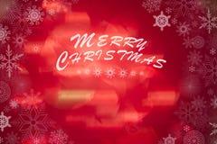 Abstraktes Weihnachten unscharfer Hintergrund Lizenzfreies Stockfoto
