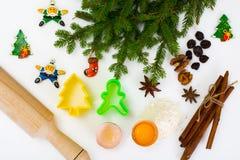 Abstraktes Weihnachts- und des neuen Jahreshintergrund Stockbilder