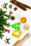 Abstraktes Weihnachts- und des neuen Jahreshintergrund Stockfotografie