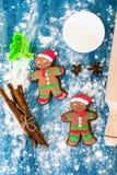 Abstraktes Weihnachts-und neues Jahr-Hintergrund mit altem Weinlese-Holz Stockfotografie