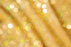 Abstraktes Weihnachtsgoldenes Funkeln Lizenzfreies Stockfoto