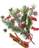 Abstraktes Weihnachtsnatürlicher Hintergrund im Weiß Stockbild