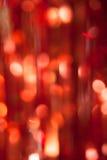 Abstraktes Weihnachtsrote Lichter auf Hintergrund vertikal Lizenzfreies Stockbild