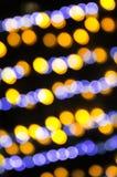 Abstraktes Weihnachtsundeutlicher Hintergrund Stockfoto