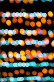 Abstraktes Weihnachtsundeutlicher Hintergrund Stockbild