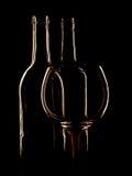 Abstraktes Wein-Hintergrund-Design Lizenzfreies Stockfoto