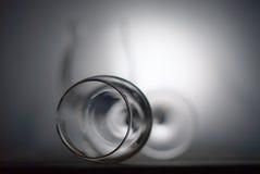 Abstraktes Weinglas Lizenzfreie Stockfotos