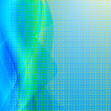 Abstraktes Wellenfarbgestaltungselement. vektor abbildung