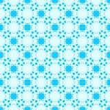 Abstraktes widerspiegelndes nahtloses Geometriemuster Stockfotos