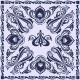 Abstraktes wirbelndes Muster Stockfoto