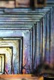 Abstraktes Wismut Stockbilder