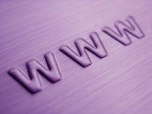 Abstraktes WWW Stockbilder