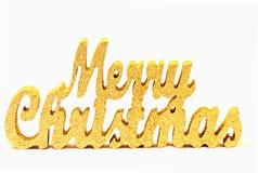 Abstraktes Zeichen der frohen Weihnachten Lizenzfreie Stockfotos