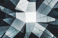 Abstraktes zeitgenössisches Architekturdetail Lizenzfreie Stockbilder