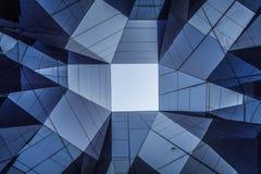 Abstraktes zeitgenössisches Architekturdetail Lizenzfreies Stockbild