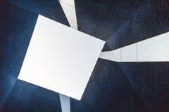 Abstraktes zeitgenössisches Architekturdetail in Europa Stockfotos