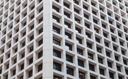 Abstraktes zeitgenössisches Architekturfragment Lizenzfreie Stockfotos