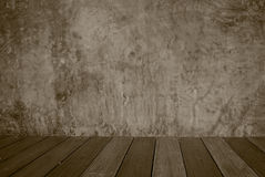 Abstraktes Zementbetonmauergrau in Rauminnenweinlese a Stockbilder
