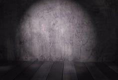 Abstraktes Zementbetonmauergrau in Rauminnenweinlese a Lizenzfreies Stockbild