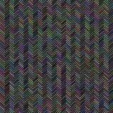 Abstraktes Zig Zag -Muster Lizenzfreies Stockbild