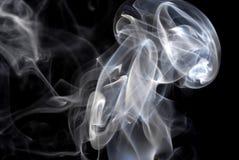 Abstraktes Zigarettenrauchmuster Stockfotografie