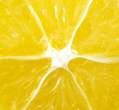Abstraktes Zitronenmakro für Hintergrund Lizenzfreies Stockfoto