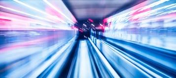 Abstraktes Zugbewegen Lizenzfreie Stockfotografie