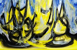 abstraktion Abstrakt begrepp målning bild vektor illustrationer