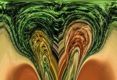 abstraktion Abstrakt begrepp målning bild stock illustrationer