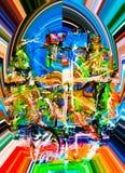 abstraktion Abstrakt begrepp målning bild Royaltyfri Bild