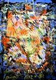 abstraktion Abstrakt begrepp målning bild Royaltyfria Bilder