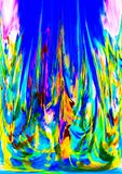 abstraktion Abstrakt begrepp målning bild Royaltyfri Foto