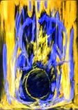 abstraktion Abstrakt begrepp målning bild Royaltyfri Fotografi