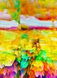 abstraktion Abstrakt begrepp målning bild textur vektor illustrationer