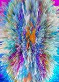 abstraktion Abstrakt begrepp målning bild textur royaltyfri illustrationer