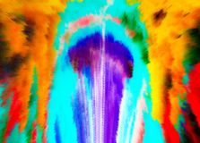 abstraktion Abstrakt begrepp målning bild textur texturerat unikhet _ abstractionism texturer färgrikt färger Grap vektor illustrationer