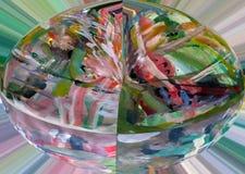 abstraktion Abstrakt begrepp målning bild textur texturerat unikhet _ abstractionism texturer färgrikt färger Grap Royaltyfria Foton