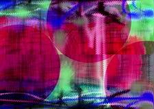 abstraktion Abstrakt begrepp målning bild textur texturerat unikhet _ abstractionism texturer färgrikt färger Grap Arkivbilder